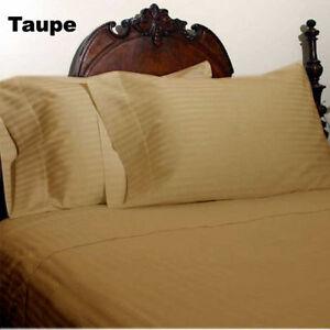 Deep Pkt 7 PC(Sheet Set+Duvet Set)1000 TC Egyptian Cotton Full XL Size & Colors