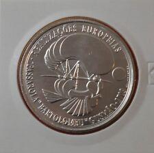 PORTUGAL 8 EURO 2007, PASSAROLA-BARTOLOMEU DE GUSMAO, Silver Coin - UNC   [M#14]