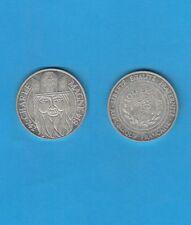 100 Francs en argent Silver coin 1990 Charlemagne Empereur d' Occident (782-814)