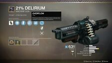 Destiny 2 21% delirium gambit weapon full quest Guaranteed done on PS4/Pc