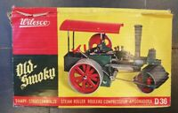 Wilesco 'Old Smoky' Steam Roller D36 with Box, Instructions, Spanners & Fuel