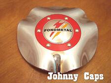 Fondmetal Wheels Chrome Center Caps #T201 Custom Wheel Center Cap (1)