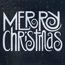 Divertido, feliz Navidad coche decal pegatina de vinilo