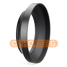 62mm metal wide angle screw in mount lens hood for Canon Nikon Pentax Sony