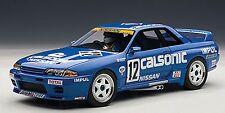Autoart 1990 Nissan Skyline GT-R R32 Group A Calsonic #12 w/Driver LE 1000 1/18