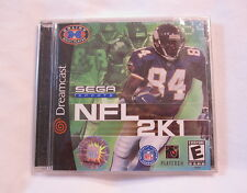NFL 2K1 (Sega Dreamcast) Original Brand New, Sealed!