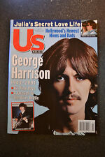 Us Weekly Magazine  -  December 17, 2001  -  George Harrison beatles dec