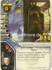 Warhammer Invasion - 2x Carroburg Cutthroats  #087 - Portent of Doom