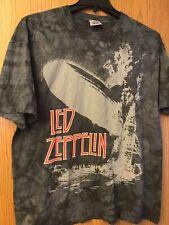 Led Zeppelin.  Gray Shirt.  Liquid Blue.