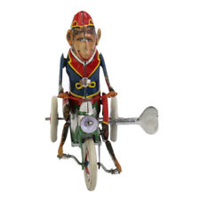 Blechspielzeug Zirkus Affe Auf Motorrad Spielzeug Modell mit Wind-up de