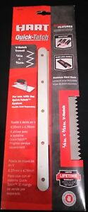 HART Quick-Tatch 1/4 in. x 3/16 in. V-Notch Trowel in Original Packaging