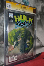 Hulk Smash #2 CGC 9.8 2001 SS 2X Garth Ennis John Mccrea White Pages Rare