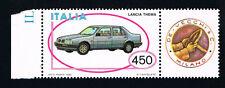 ITALIA 1 FRANCOBOLLO MACCHINA LANCIA THEMA AUTO APP. 1985 nuovo**