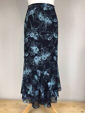 Jacques Vert Long Skirt Mid Calf UK 18 Floaty Hem Mother Of Bride Wedding Guest