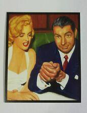 Joe DiMaggio Marilyn Monroe New York Yankees 1995 JSW rare mini Baseball Card