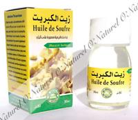 Huile de Soufre (Macérât) 100% Naturelle 30ml Sulfur Oil, Aceite de Azufre