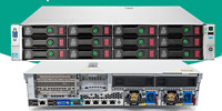 HP DL380e G8 14xLFF  2x E5-2450L 16Cores 32 Threads 64Gb DDR3 + 8Tb SAS SERVER
