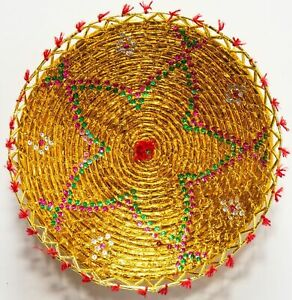 """Classic World Rugs 16"""" Inches Hand-Woven Southwestern Design Basket Brbsf-120"""