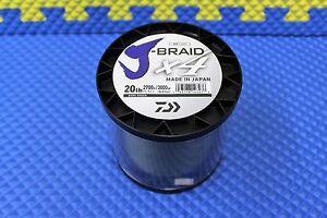 Daiwa J-Braid X4U 20-2700DG Dark Green 20lb 3000yd 4000-2076