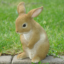 Gartenfigur Dekofigur Skulptur Tier Deko Beetfigur Hase Kaninchen wetterfest