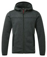 Tuff Stuff Mens Grey Work Hoodie Fleece Jacket Heavyweight Henham Knitted UK
