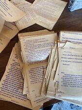 HUGE LOT Kennedy Assassination UPR Teletype Originals.  + PORTRAIT !   VERY RARE