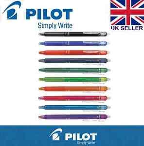 Pilot Frixion Point Clicker Erasable Rollerball Pen 0.5 / 0.7 mm