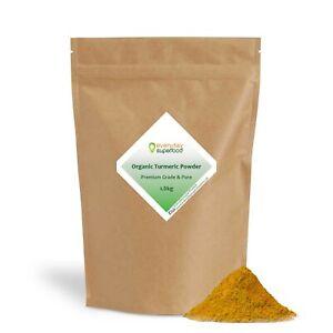 Organic Turmeric Powder Premium Grade High Curcumin Turmeric Certified Organic