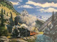 Howard Fogg Denver & Rio Grade Western Railroad 476 Print 12x16 D&RGW Steam Loco