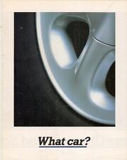 Ford Granada 1992 UK Market Launch Foldout Sales Brochure