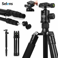 Selens 64'' Camera Tripod Monopod & 360° Panorama Ball Head Quick Release Plate