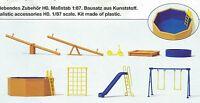 dispositivos de juegos para zona Preiser 17351 FIGURAS ESCALA HO (16,5 mm)