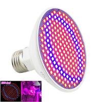 200 LED E27 Plant Grow Light lamp flower seeds Growing Lights Bulbs Hydroponics