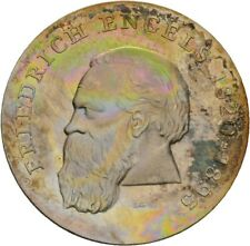 Künker: DDR, 20 Mark 1970 (A), 150. Geburtstag Friedrich Engels, Erhaltung!