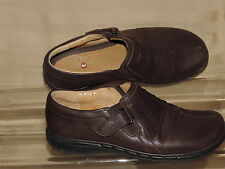 Clarks Unstructured EU 39  US 8.5  Brown Leather Loafer Flat Shoes 16731