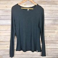 The North Face Womens Thermal Top Long Sleeve Black Size Medium