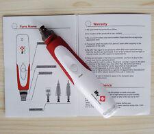 Electric Derma Pen Stamp Auto Anti Aging Skin Therapy Micro Needle Care EU Plug