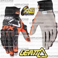 Leatt Gpx 5.5 Windblock Negro Naranja Guantes Adulto Grande L Motocross Enduro Atv