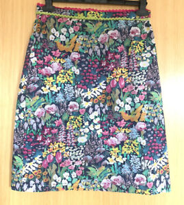 Avoca Anthology Liberty Ladies Skirt 8 1 Small Painters Meadow Floral Cute
