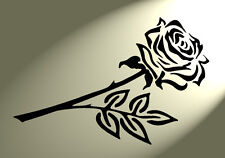 Shabby Chic Stencil Singolo Fiore Rosa Stile Vintage a4 297x210mm Muro in Mylar