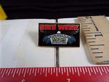 BIKE WEEK DAYTONA BEACH, FL. WORLD'S LARGEST MOTORCYCLE EVENT PIN