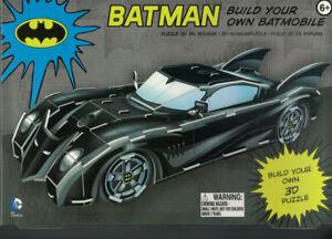 DC Comics Build Your Own Batmobile 3D Puzzle by Paladone BRAND NEW