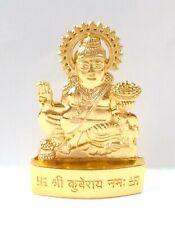 Kuber Idol Kubera Murti Statue God Mixed Metal 6.5 cm Height Energized US Seller