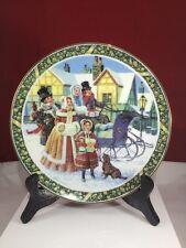 Here we come a Caroling Royal Windsor Christmas Plate 1983 Us Historical N20