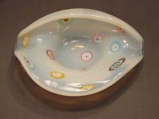 art glass shell dish Fratelli Millefiori Opalescence Murano