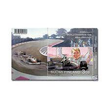 Mika Hakkinen 1998 World Champion McLaren Formula 1 Commemorative Stamp