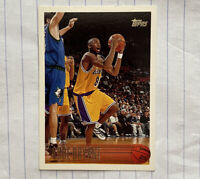 Kobe Bryant Topps 1996-97 Rookie #138 RC Los Angeles Lakers HOF GOAT See Pics!