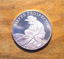 1 oz - Silver Prospector Silver Round .999 Fine Silver