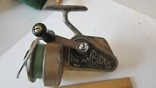 Vintage The Ambidex No. 2 Casting Reel J W Young & Son Redditch, Eng.