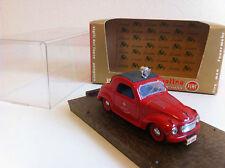 """Brumm - R24 - Fiat 500 C Topolino """"Servizio prevenzione' - Pompiers (1/43)"""